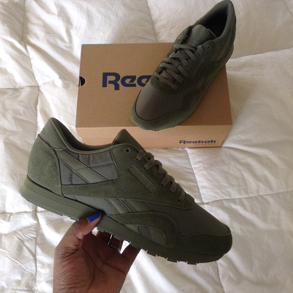 a2501edd27370e Reebok Classic Nylon - Hunter Green